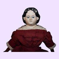 15 inch Greiner Paper Mache Doll