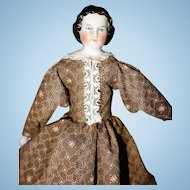 1860 China doll only 8 inches