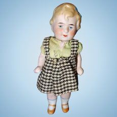 All Bisque Little Girl Germany
