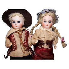 Factory Original Sonnenberg Bisque Dolls Germany