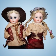 Factory Original Sonnenberg Bisque Dolls Germany