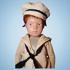 Schoenhut Wood Character Sailor Boy Doll