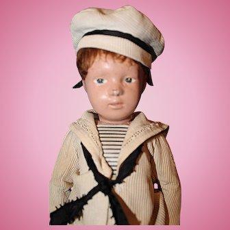 Schoenhut Wood Character Sailor Boy Doll