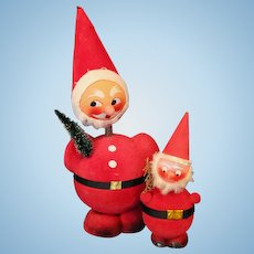 Santa Claus Candy Containers West Germany