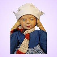 WPA Milwaukee Dutch Cloth Doll