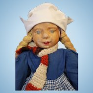 WPA Milwaukee Dutch Cloth Doll