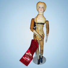 Unusual Mason and Taylor Vermont Wood Doll