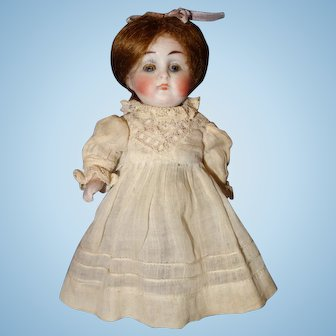 All Bisque Doll 208 5 1/4 inches tall