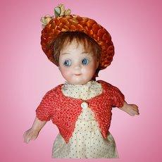 Gebruder Heubach 9573 Googly Doll German Bisque