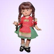 Effanbee Patsyette Rare Tyrolean Doll