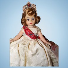 Madame Alexander Queen Doll Tagged