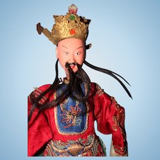 Chinese Opera Doll with Crown
