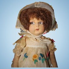Lenci Doll in Organdy and Flowers