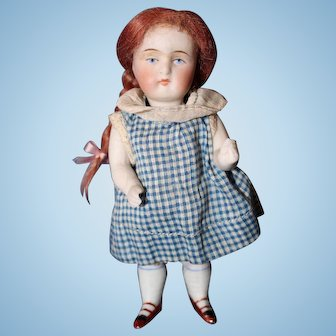 All Bisque Girl Doll marked 620