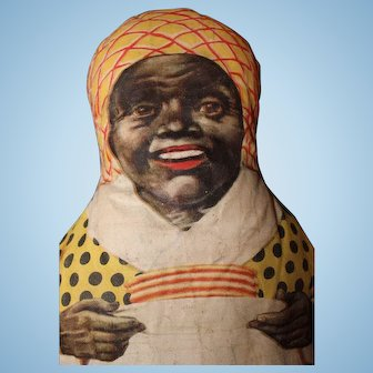 Early All Cloth Aunt Jemima Advertising doll