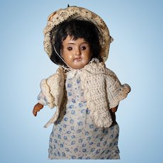 Black Bisque Doll Full jointed body