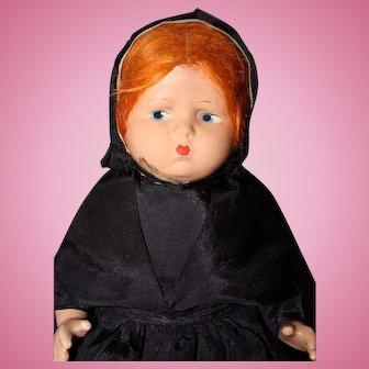 Effanbee Grumpy As Amish Red Head Doll