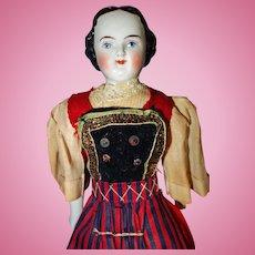 Early China Doll Factory Original Clothing