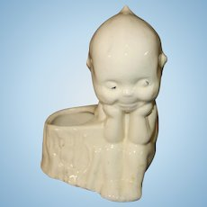 Kewpie Doll with side compartment