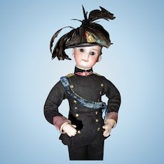 Italian Army Candy Container doll German