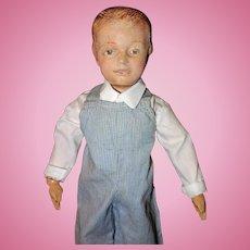 Schoenhut Molded Hair Character Boy