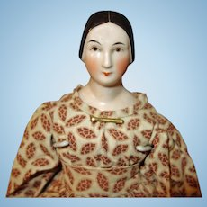 Early Kestner China Doll with Braided Bun