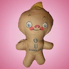 O U Kid-O Grace Drayton Cloth doll