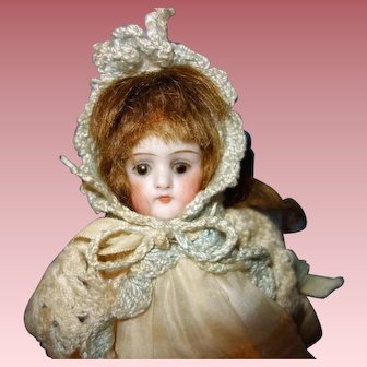 German All Bisque Doll Marked 130
