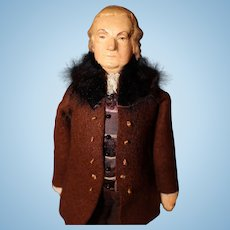 Benjamin Franklin Kimport Doll by Ruby Mckim