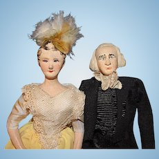 James and Dolly Madison by Ruby Mckim Kimport Dolls