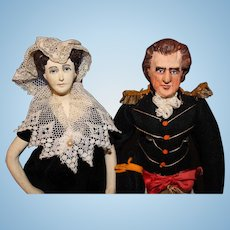 Andrew Jackson and Rachel Jackson Ruby Mckim Kimport Dolls