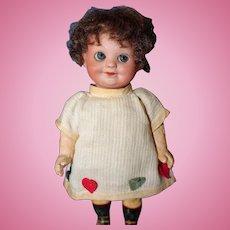 A. M. 323 Googly Original heart dress