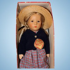 Kathe Kruse doll 14 inches in box