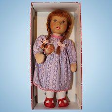 Kathe Kruse 10 inch Red Head girl doll