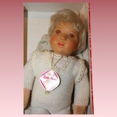 Kathe Kruse 10 inch baby doll in original box