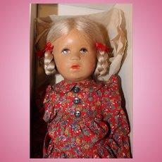 Kathe Kruse 13 inch Doll in original box