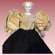 1860 Flat top Bisque Doll