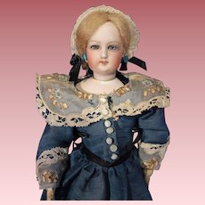Petite French Fashion Doll marked 0