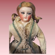 French Fashion Doll 11 inches Marked