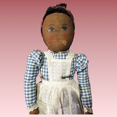 Rare Large Babyland Doll painted features