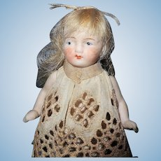 Hertwig All Bisque Doll Germany
