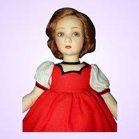 Lenci Child Doll All Original