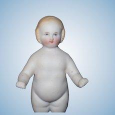 Blond Bisque Frozen Charlotte Doll