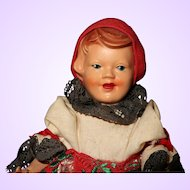 Early Character Doll  Germany All Original
