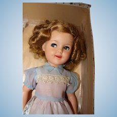 1950 Shirley Temple Doll 17 inches in original box