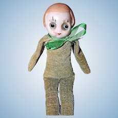 Bisque Head Googly Doll Germany