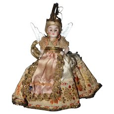 All Bisque German Angel Doll
