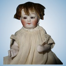 Germany all bisque Baby doll small