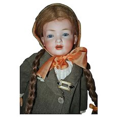 Hertel & Schwab 141 19 inch Rare Character doll