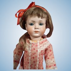 Rare Kley and Hahn character doll 546 with Glass eyes